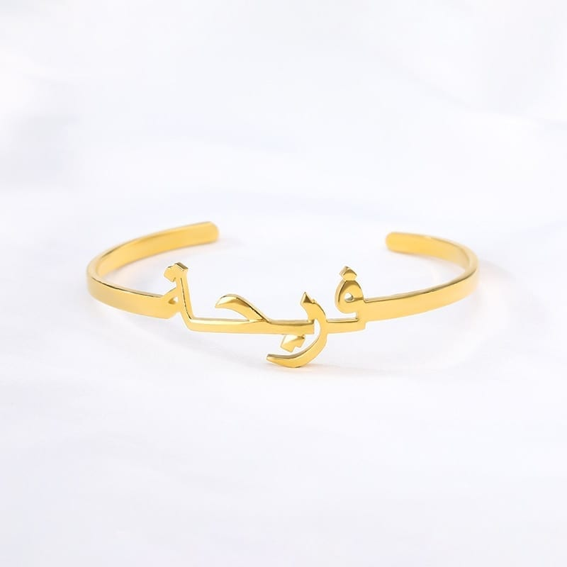 Custom-Arabic-Bracelet-Personalized-Name-Bracelets-For-Women-Stainless-Steel-Gold-Bracelet-Bangles-Boho-Jewelry-Pulseras